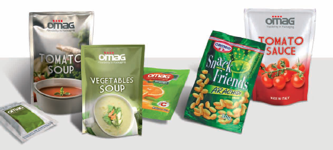 CO - macchina confezionatrice Omag per packaging in doypack